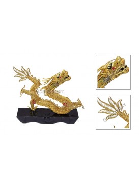 Playing With Water Dragon Ornament