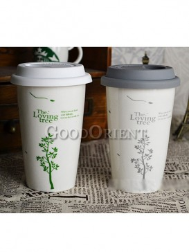 Chinese porcelain Starbucks coffee cup