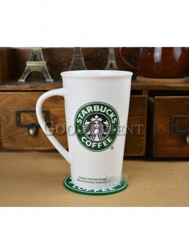 Chinese porcelain Starbucks traveling cup
