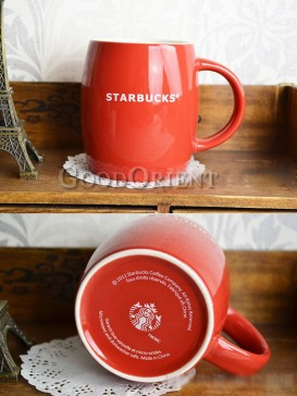 Red Starbucks Coffee mug