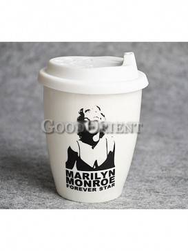 Coffee Cup with Marilyn Monroe design