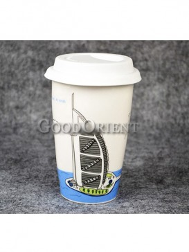 Burj Al Arab Chinese Porcelain Coffee Cup