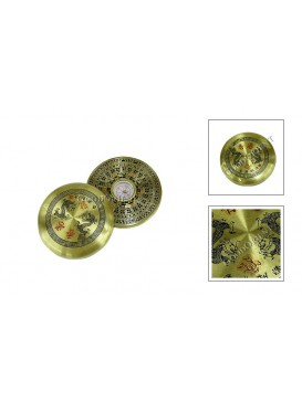 Golden Round Feng Shui Compass