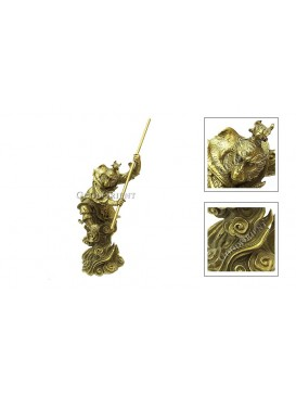 Monkey King Brass Statue
