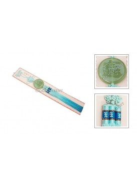 Safety Fastener Chinese Knot---Blue