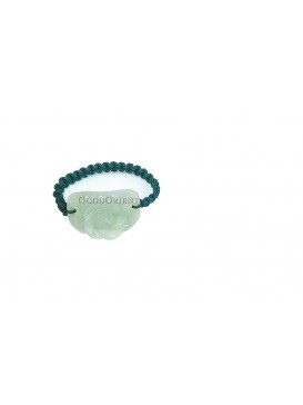 Water Lily Jade Ring