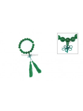 Emerald Green Prayer Cord