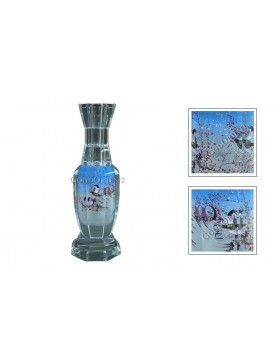 Red Plum Blossom and Pies Vase