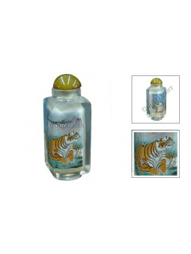 Chinese Tiger Snuff bottle