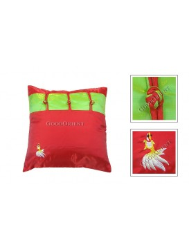 Little Golden Fish Cushion Cover---Red
