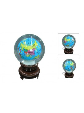 Globe Inner Painting---Medium Size