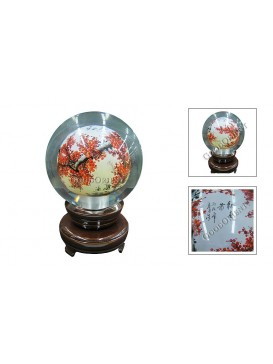 Red Plum Blossom Inner Painting---Small Size