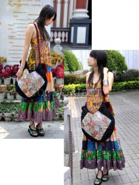 Handcrafted embroidered ethnic handbag