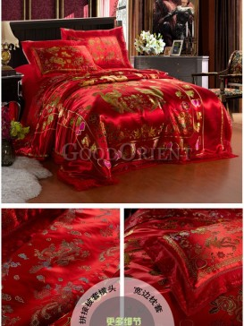 Chinese style weddings of bedding