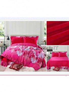 Indian and Persian Paisley Pattern Bedding Set