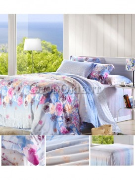 Excellent bedding with flower prints design