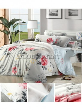Astonishing bedding with flower prints design