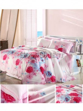 Incredible bedding with flower prints design
