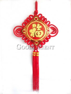 Blessing Fu Chinese Knot Room Decoration