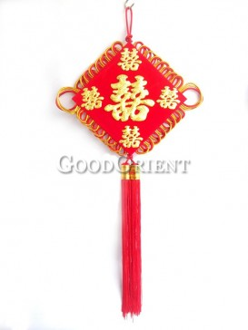 Chinese knot room decoration for wedding