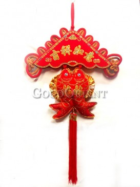 double fishes Chinese knot for home decoration