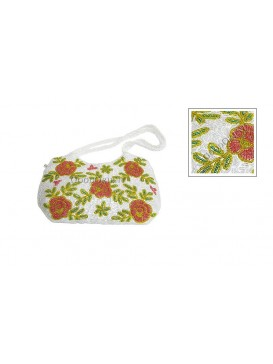 Pretty Rose Bag---White