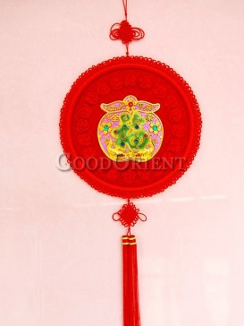 round shaped New Year Chinese knot