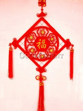 plum blossom Chinese knot for wedding