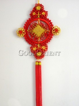 flower Chinese knot