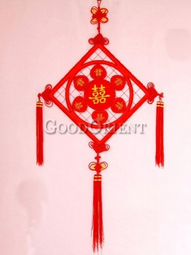 cute Chinese knot for wedding