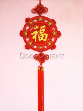 plum blossom Chinese knot for New Year