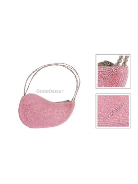 Grace Leaf Handbag---Light Pink