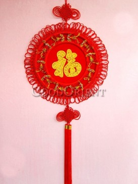 round shaped festival Chinese knot