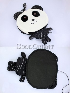 Panda mouse pad with hand warmer