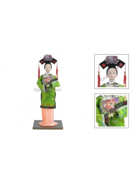 Qing Dynasty Palace Beauty Doll