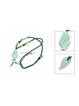 Cute Small Jade Bottle Necklace