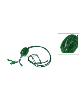 Blessing Dark Green Necklace