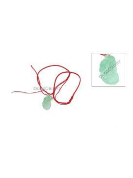 Pi Xiu with Red Riband Jade Necklace