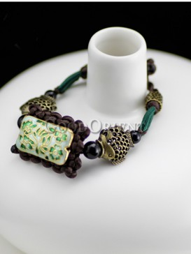 Chinese ethnic fashion of vintage Cloisonne bracelet