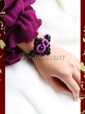 China fashion of handcrafted agate bracelet