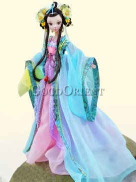 China style dolls of Wencheng princess