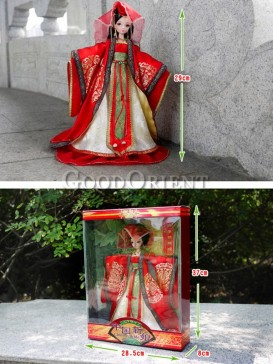 China style dolls of Chinese bride