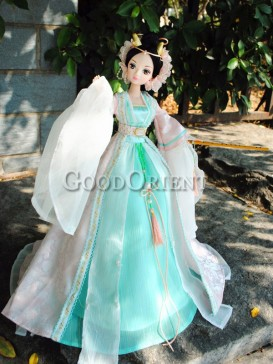 China style dolls of Chinese princess of little dragon