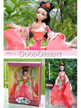 China style dolls of fairy of bigonia