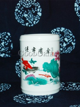 Simple Decal Pen Holder---Beauties in Chinese Famous Novel Hong Lou Meng