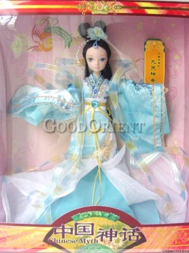 China style dolls of Goddess of Chinese legend