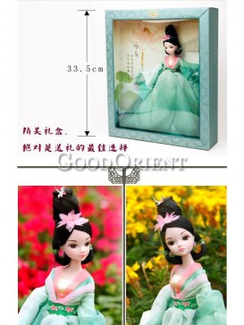 China style dolls of fairy lotus