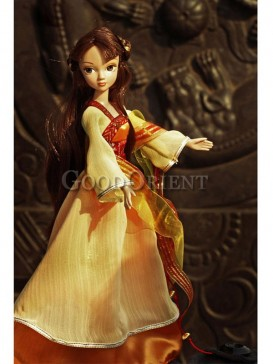 China style dolls of fairy of rosefinch