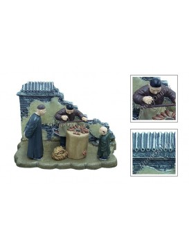 Chinese Miniature Arts---Selling Baked Pachyrhizus