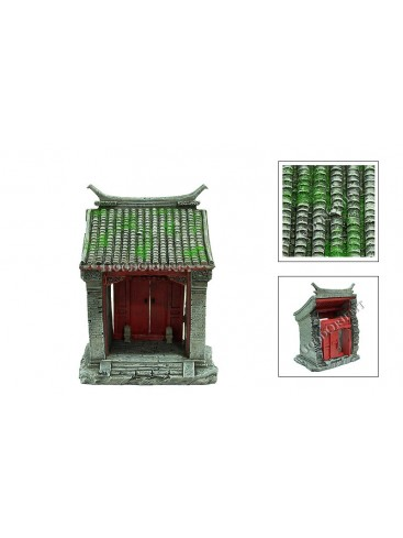 Chinese Miniature Arts---Green Tails